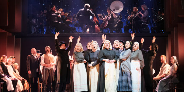 Sangere på scenen