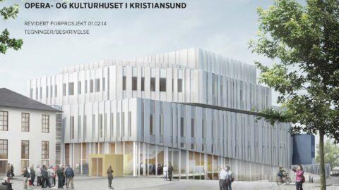 Tegning kulturhuset