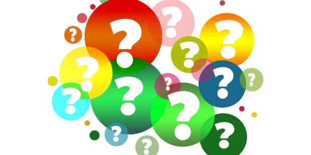 Bobler med spørsmålstegn