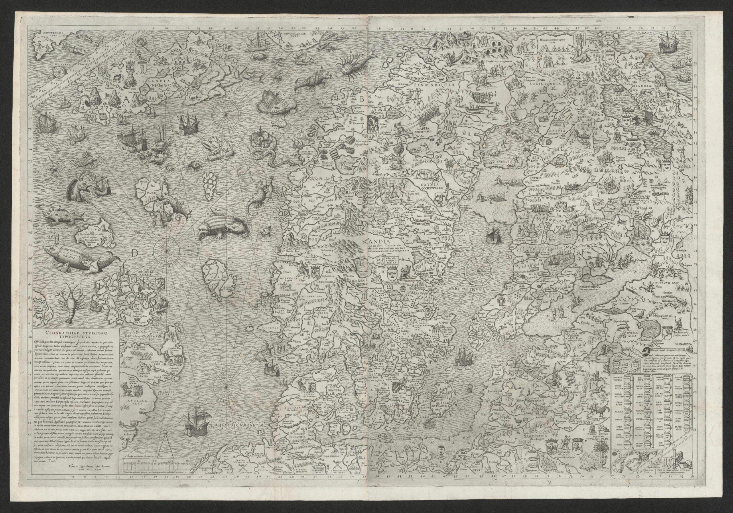 Carta Marina, et gammelt kart